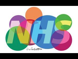 Illustration about NHS